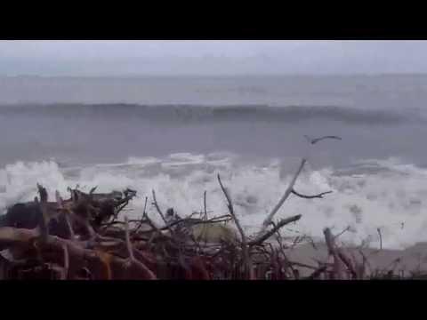 Vídeo de gran ola en playas de Ciénaga