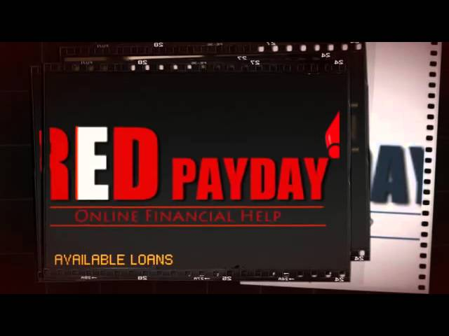 Online Payday Loans Canada - Red Payday