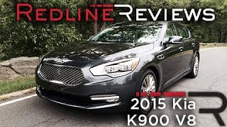 2015 Kia K900 V8 Redline First Drive