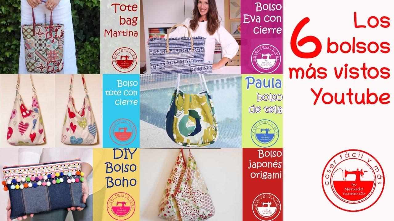 Los 6 bolsos de tela más vistos en YouTube