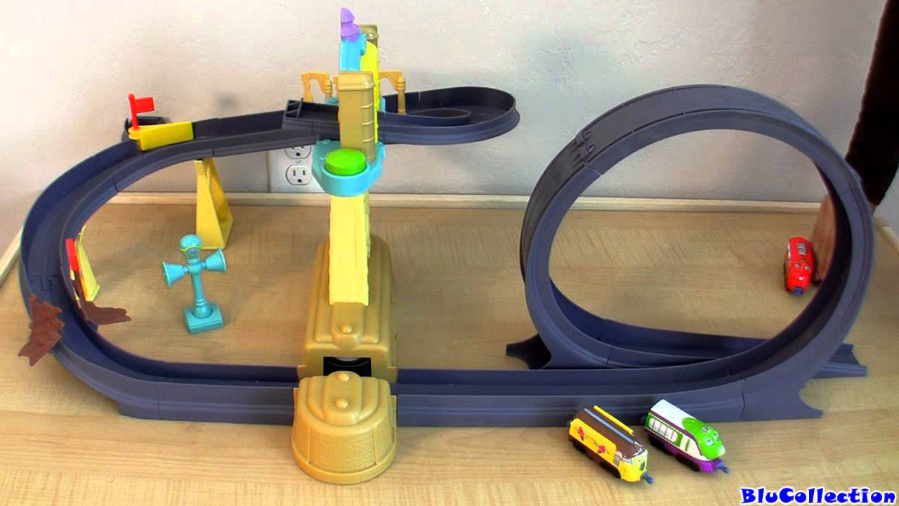 Chuggington Training Yard with Launcher and Loop set - YouTube