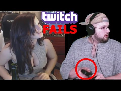 TWITCH FAILS COMPILATION #8 GUY PULLS OUT GUN ON STREAM