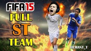 FIFA 15 Challenges - All Strikers Team (Ultimate Team PS4 Gameplay)