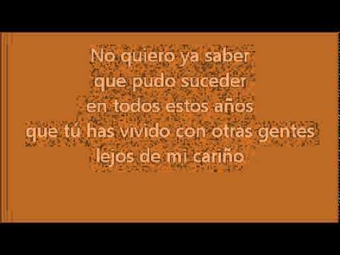 No me platiques mas ~ Luis Miguel (letra)