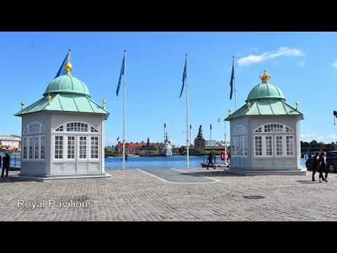 Copenhagen, Denmark - Walking and Boat Tours - August 14, 2017