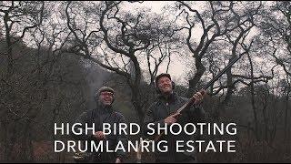 High Bird Shooting at Drumlanrig Estate with Ross Neville