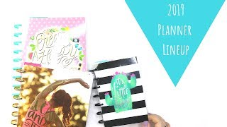 2019 Planner Lineup