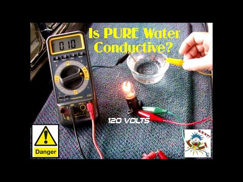 Is PURE Water Electrically Conductive?