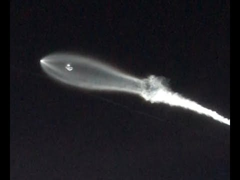 Crazy Video of Object in Sky over Los Angeles (SpaceX Falcon 9)
