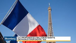 U.S. Proposes Tariffs on France in Response to Digital Tax
