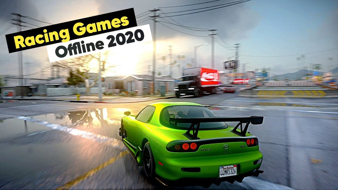 Top 10 OFFLINE Racing Games For Android & iOS 2020 [Good Graphics]