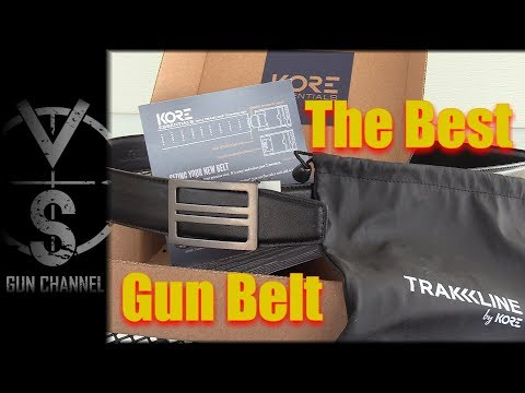 The Best Concealed Carry Belt Money Can Buy (2017) - YouTube
