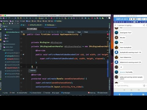 Android Video Chat App Tutorial Using Firebase & Agora.IO