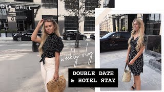 COUPLES DATE NIGHT & HOTEL STAY IN MANCHESTER VLOG