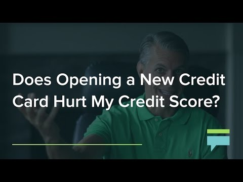 Does Opening A New Credit Card Hurt My Credit Score? – Credit Card Insider