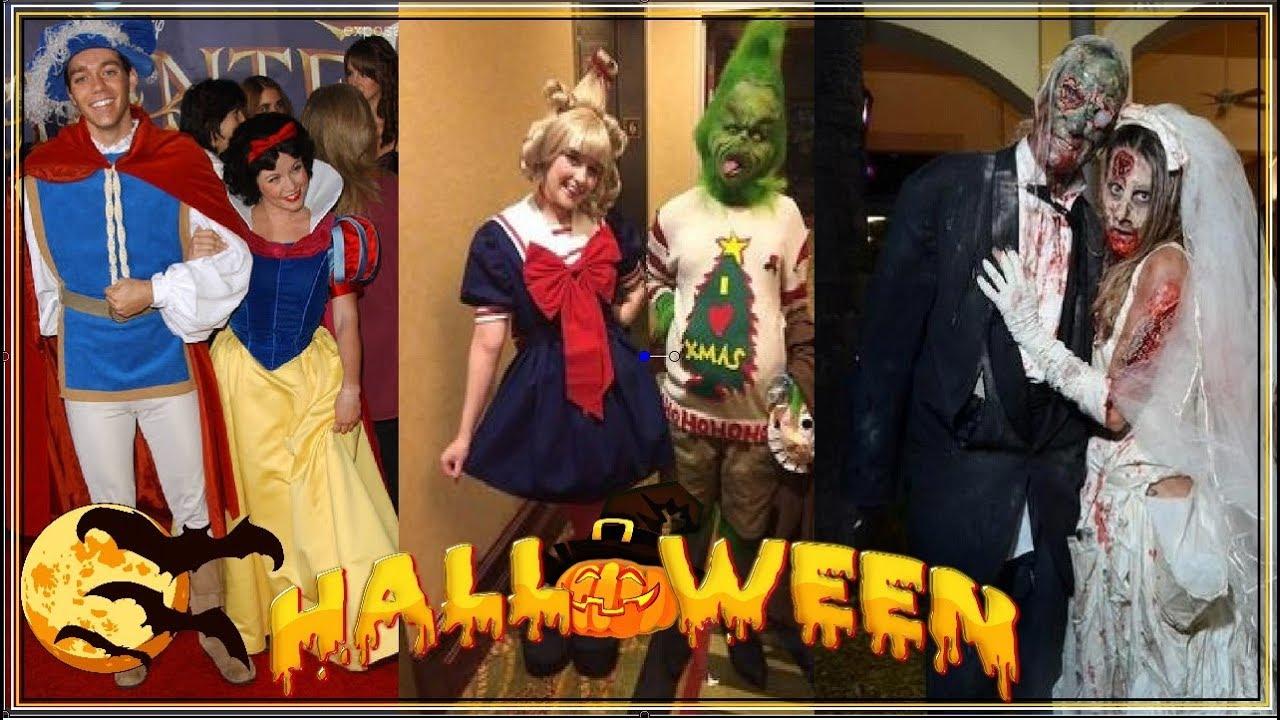 DISFRACES EN PAREJA 2017 l Halloween Costume Ideas l - YouTube