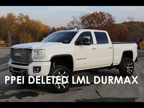 Duramax Def Delete >> 2016 Duramax 2500 ~PPEI TUNED KORY WILLIS FULL DELETE ...
