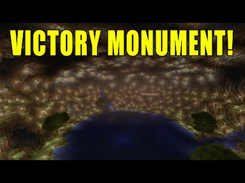 Minecraft Xbox - Into the Depths - Ep 5 The Victory Monument!