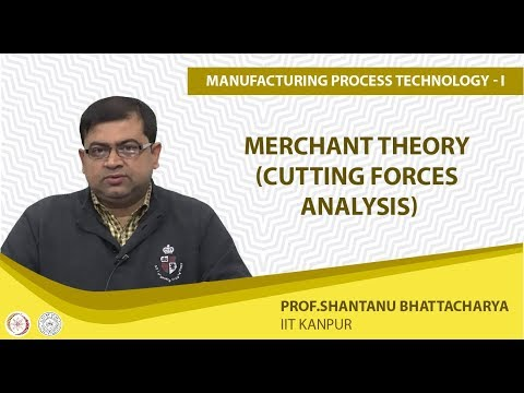 Merchant Theory (Cutting Forces Analysis)