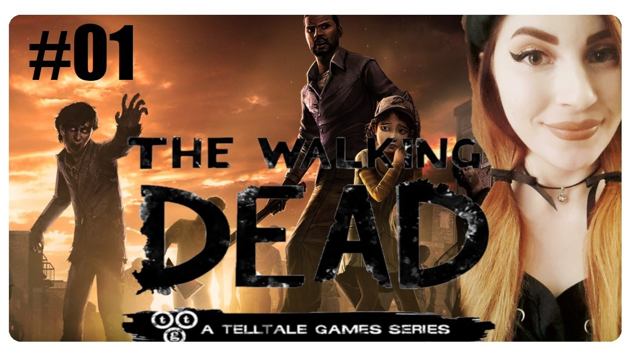 #01 Let's Play The Walking Dead (GERMAN/LIVESTREAM) Die Apokalypse beginnt!