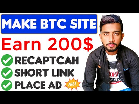 How To Make A Website For Free || Earn $200 Par Month || Bitcoin Faucet Website Free BTC Script 2020