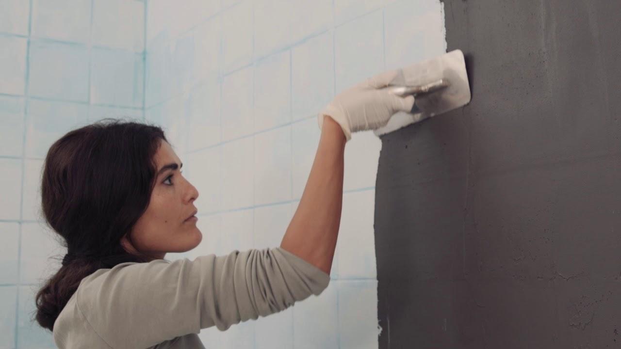 Betonoptik Anleitung: Dem Badezimmer einen Betonlook mit Stilnovo verleihen!