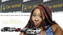 How I get my RENTAL CARS for the low low!| car Rental Tips and Tricks