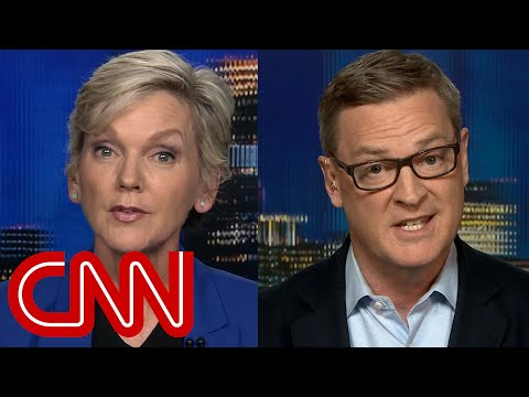Granholm to panelist: Do not be all feminist with me