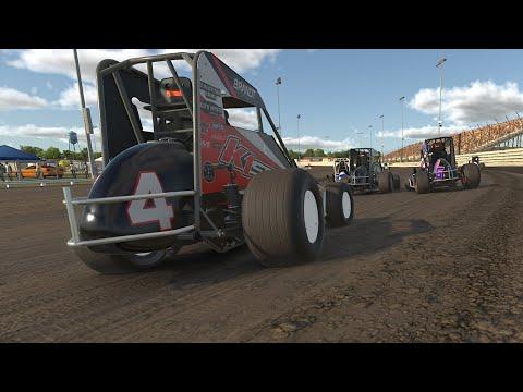 iRacing-Midget @ Knoxville Raceway