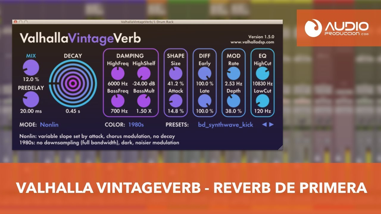 Valhalla VintageVerb v1-7-1 VST-RTAS-AAX-AU WIN-MAC - MEDIATORRENTZ