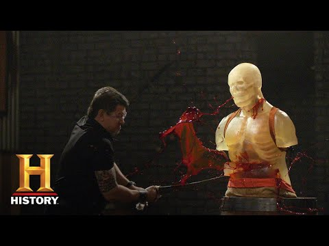 Forged In Fire: Genghis Khan's Sword BARBARIC FINAL ROUND (Season 7) | History