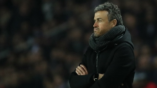 Barcelona still believe despite PSG thrashing, says Luis Enrique – video