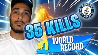 35 KILLS WORLD RECORD - PAYAMZ SOLO VS DUO - FORTNITE BATTLE ROYALE GAMEPLAY