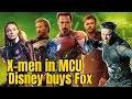 Disney Buys Fox X men to appear in Avengers Movies after Avengers 4