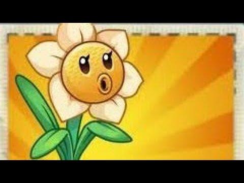 Narcissus shooter lvl 3 Plants vs Zombies 2 china version