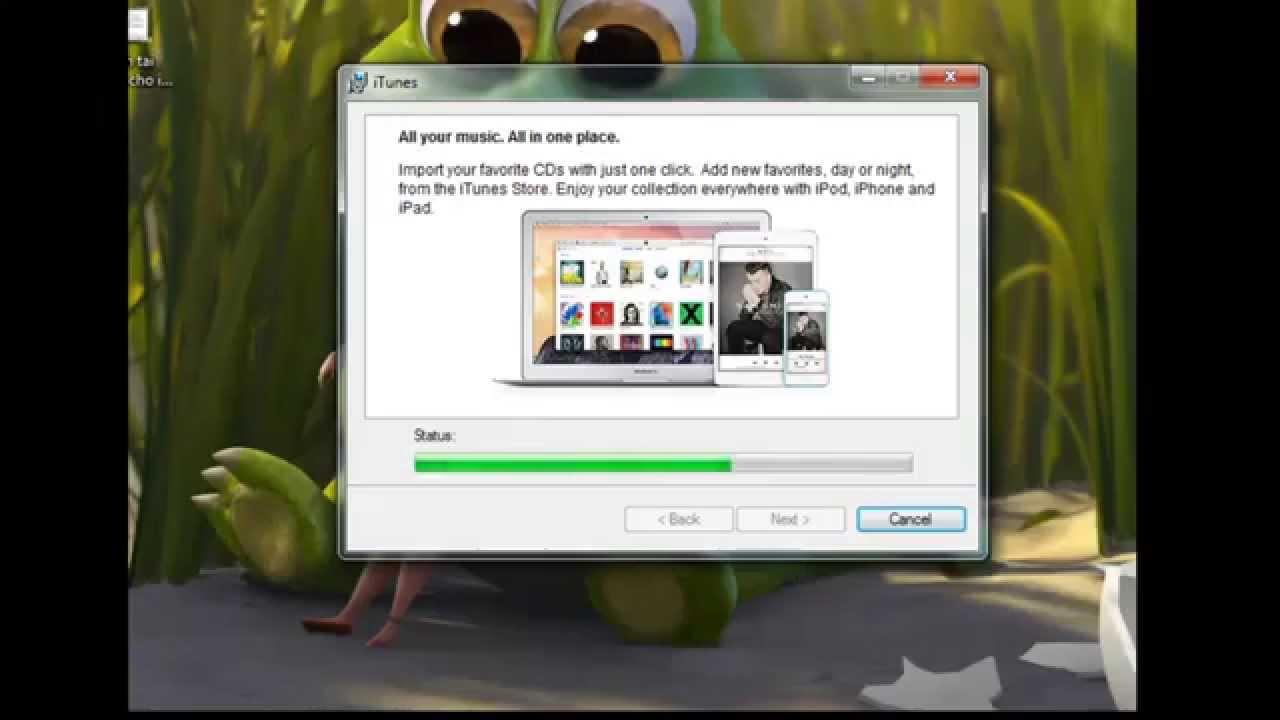 Cách tải iTunes cho iPhone trên Windows có tiếng việt