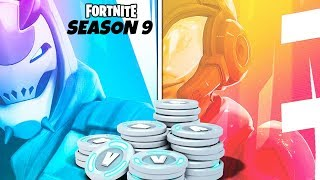 Fortnite wants to give you FREE V-BUCKS in Season 9...