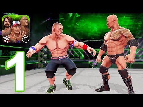 WWE Mayhem - Gameplay Walkthrough Part 1 - Season 1-2 (iOS, Android)
