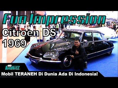 Mobil Paling ANEH BIN AJAIB Di Dunia Ada Di Indonesia! - Citroen DS 1969   LugNutz AJ