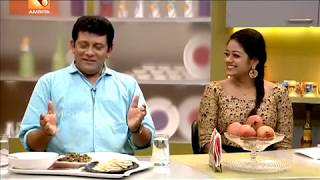 Annies Kitchen With Jayakumar & Preetha | Roasted Mashroom in Caramelized Butter Recipe by Annie...