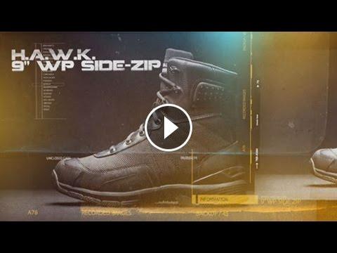Original S.W.A.T. 165431 HAWK WaterProof Side Zip EN