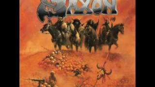 SAXON- Great White Buffalo