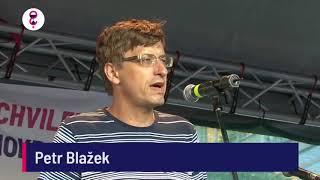 Demonstrace 5. 6. 2018 - Petr Blažek