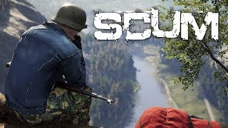 NEW PVP SURVIVAL GAME \\ SCUM HUNTING OTHER PLAYERS