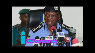 Nigeria Police reacts to video of IGP Idris struggling to read speech
