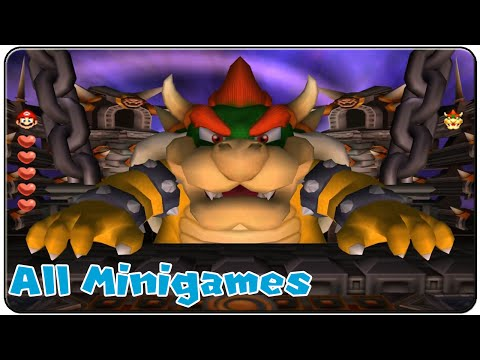 Mario Party 5 All Minigames