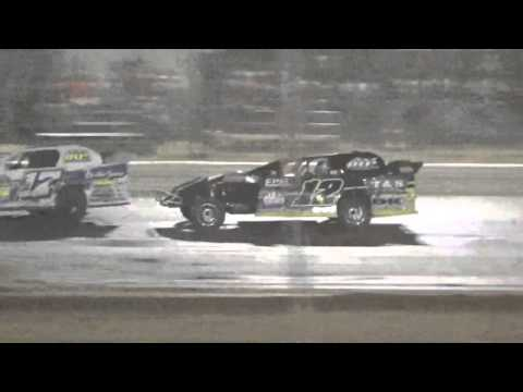 Ark La Tex speedway Limited modified A feature part 3 9/26/15