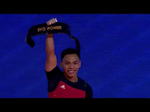 Eko Yuli Irawan clinches triple gold in Men's 61kg Mp3