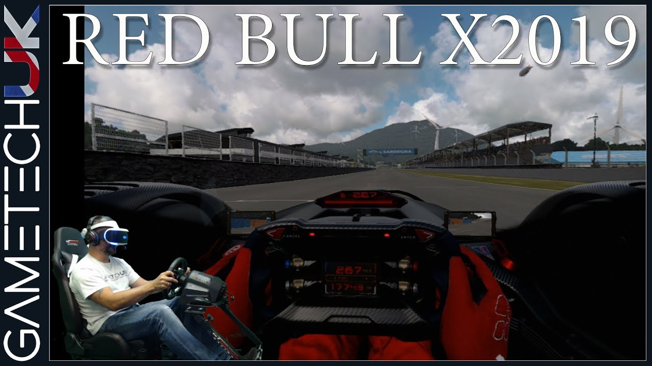 GT Sport | VR drive in the Red Bull X2019