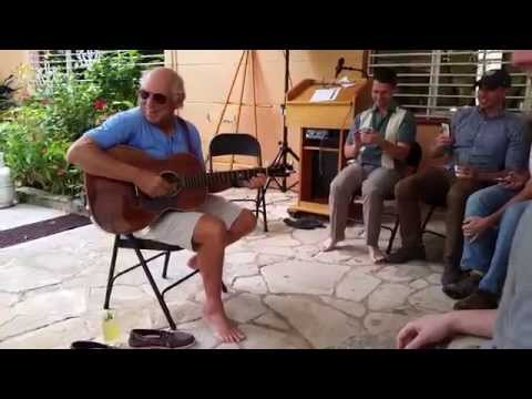 "Jimmy Buffett Sings ""Margaritaville"" in Havana, Cuba"